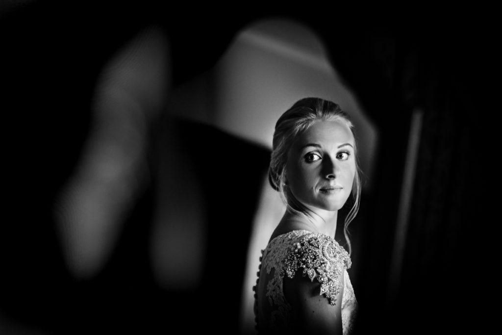 Lake district wedding photographer black & white