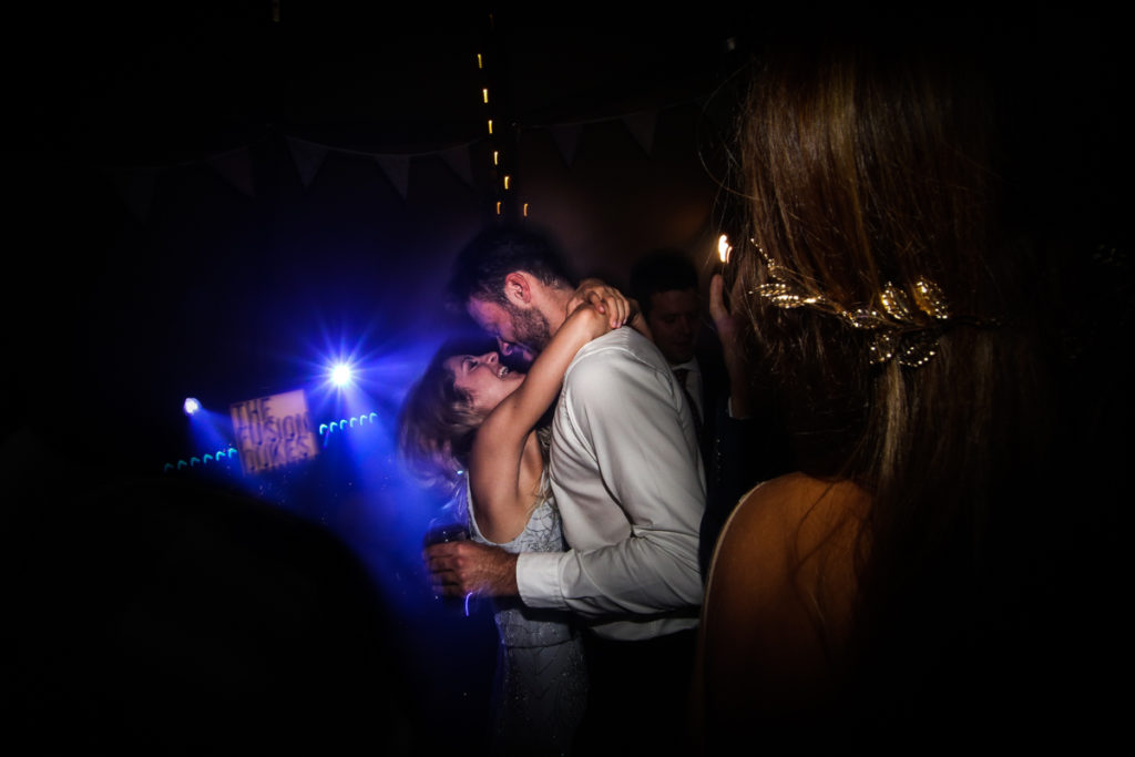 Lake district wedding photographer first dance