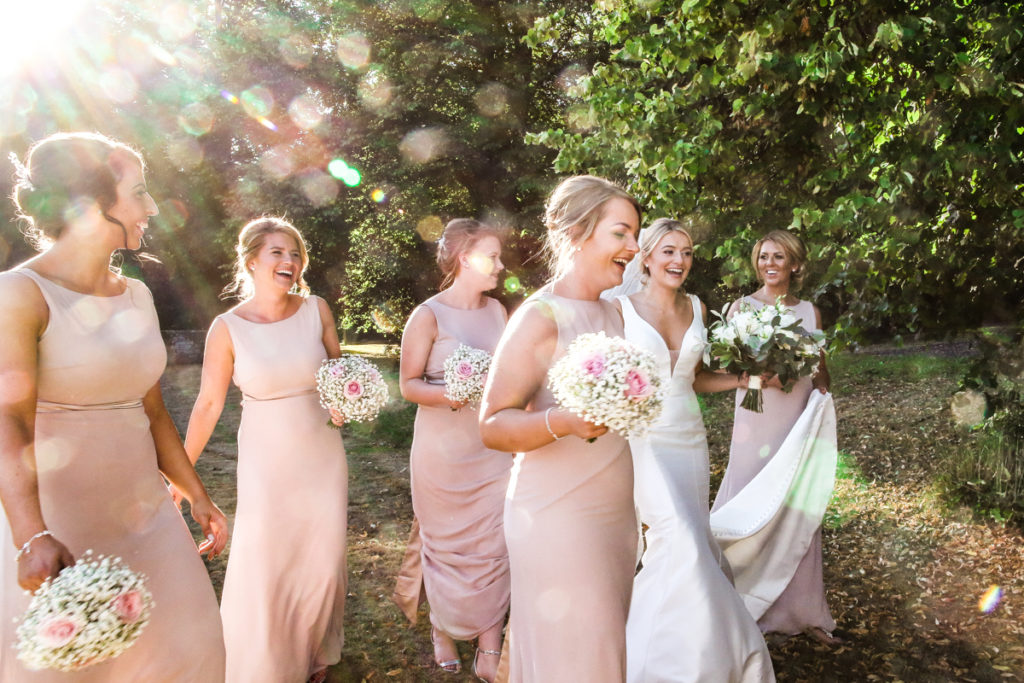 Wedding photographer Cumbria bridal party