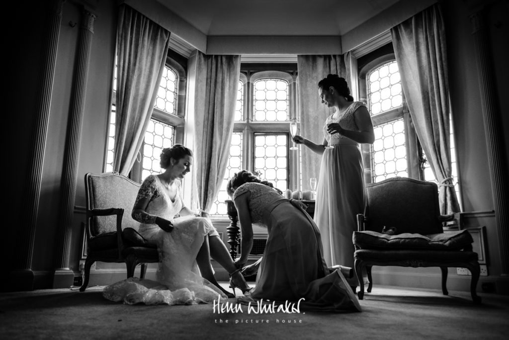 Documentary wedding photographer Thornton Manor Cheshire