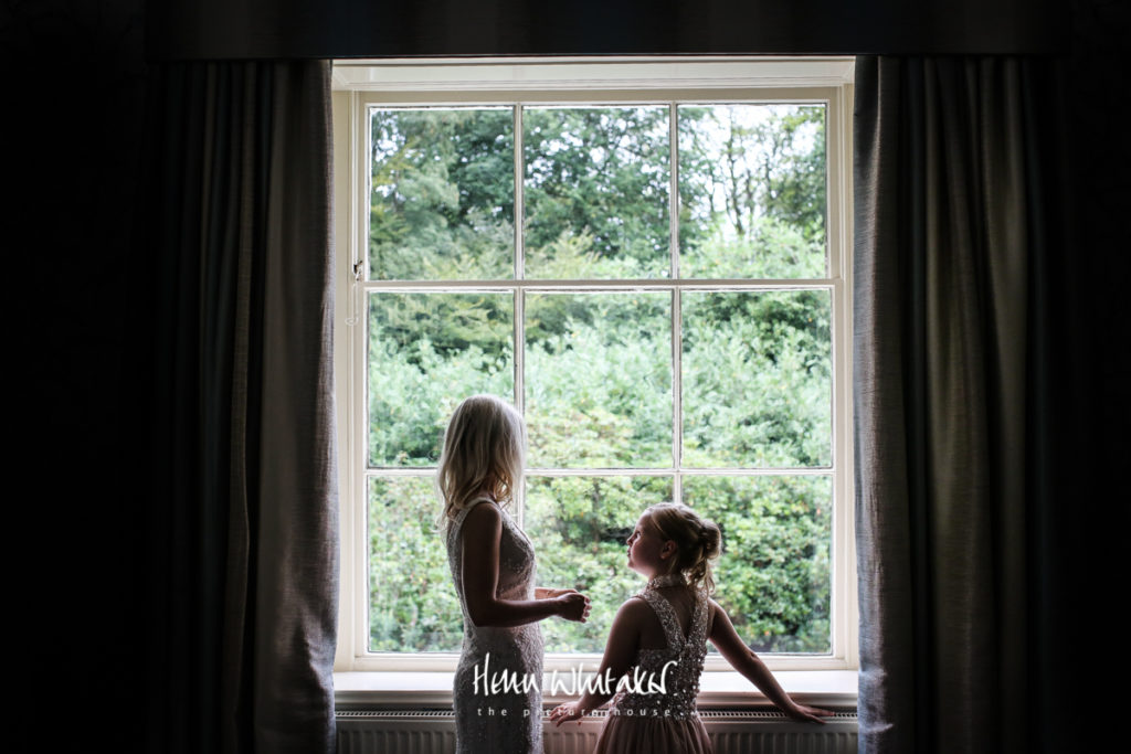 Documentary wedding photographer Storrs Hall Lake District