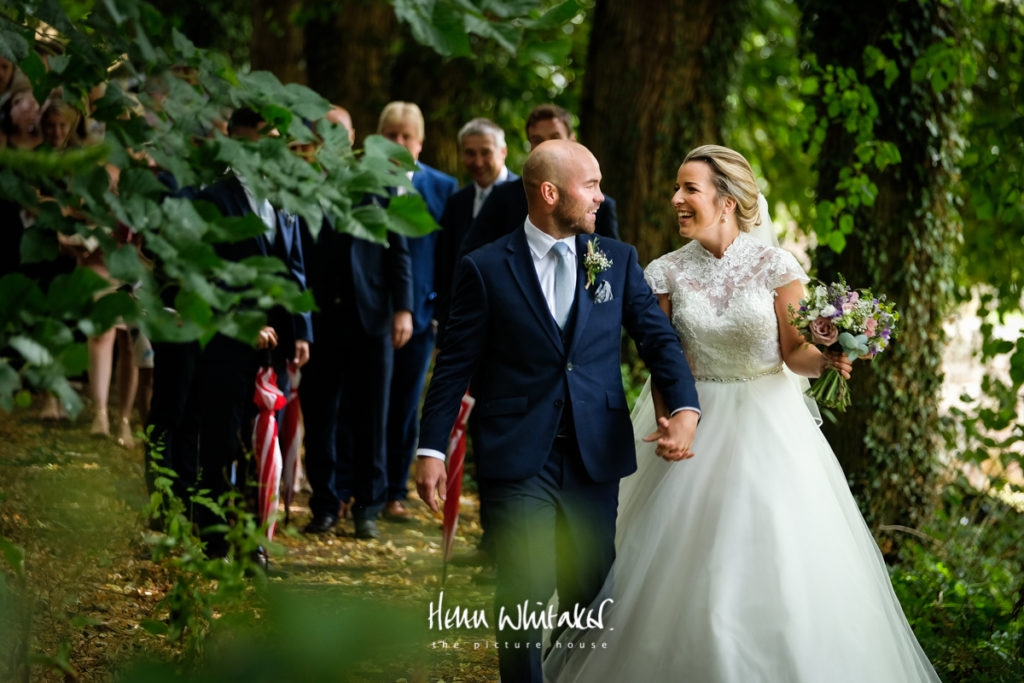 Documentary wedding photographer Lake District church