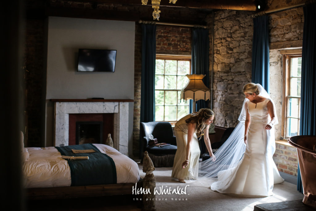 Documentary wedding photographer Le Petit Chateau Northumberland