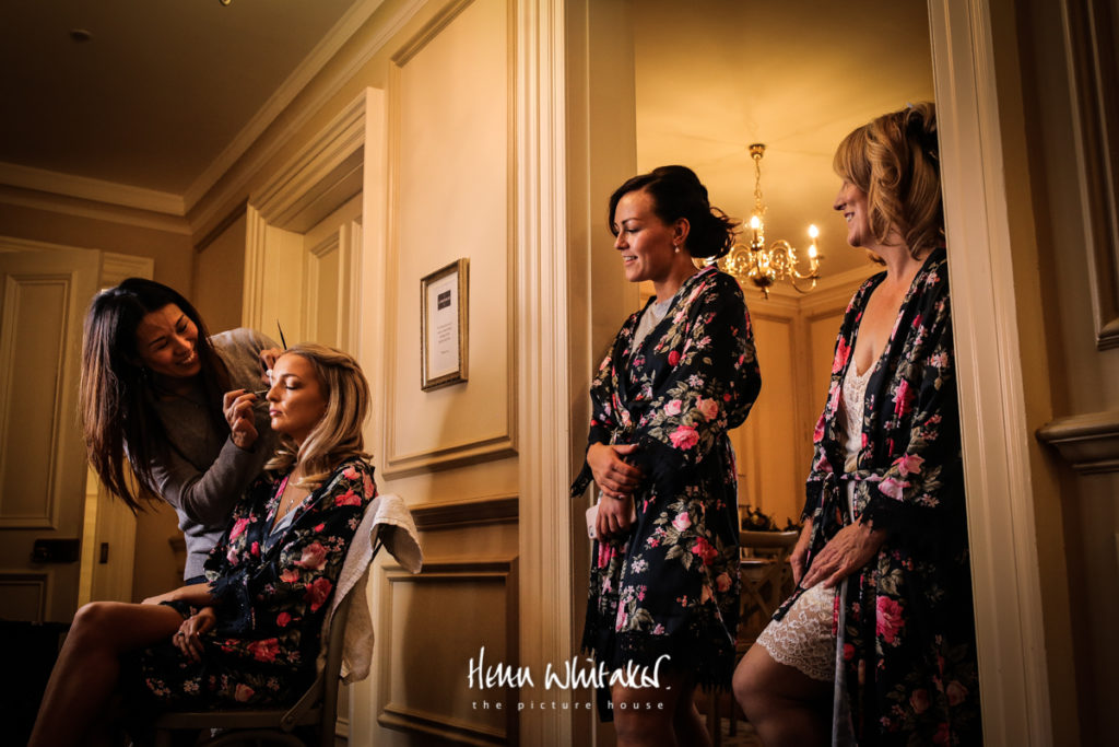 Documentary wedding photographer The Lingholm Estate Keswick Lake District