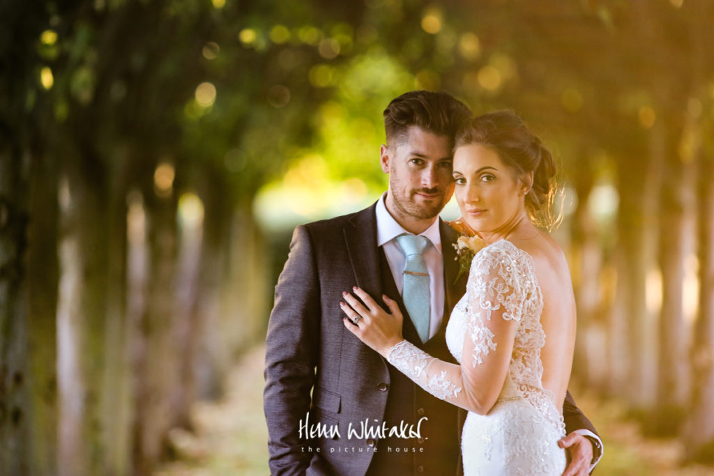 Wedding photographer Thornton Manor Cheshire portrait