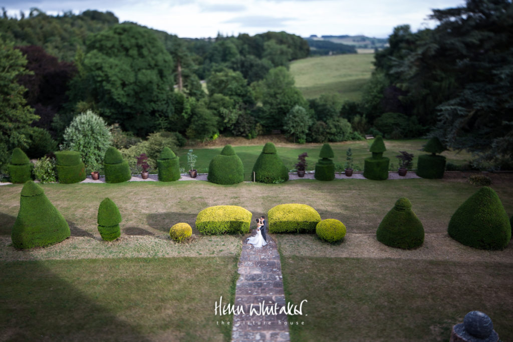 Documentary wedding photographer Askham Hall Cumbria