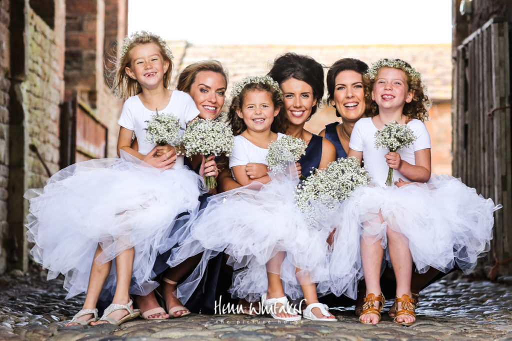 Documentary wedding photographer Lake District the bridesmaids