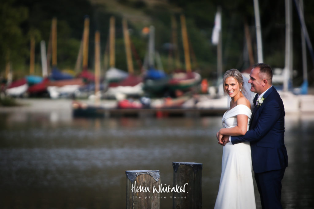 Wedding photographer Lake District Inn on The Lake portrait