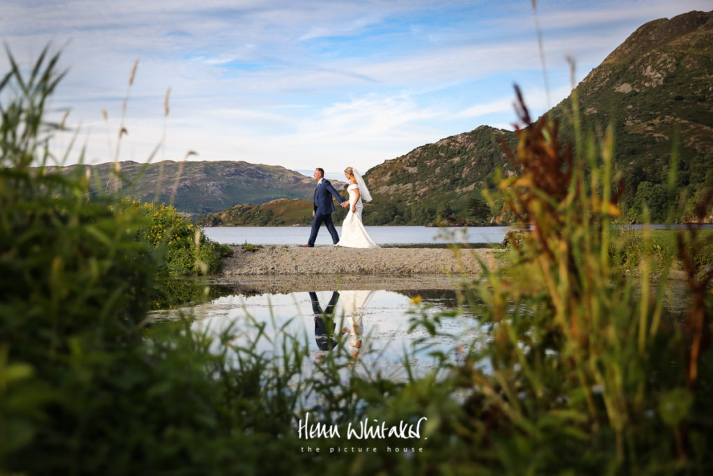 Wedding photographer Lake District Inn on The Lake