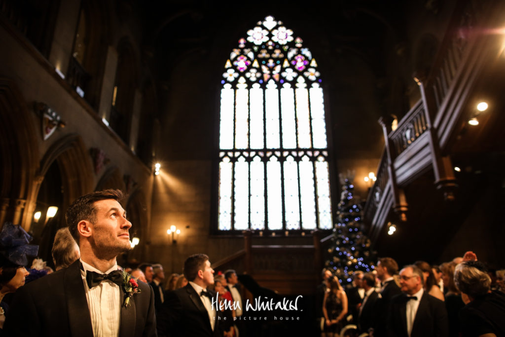 Documentary wedding photographer Matfen Hall Northumberland