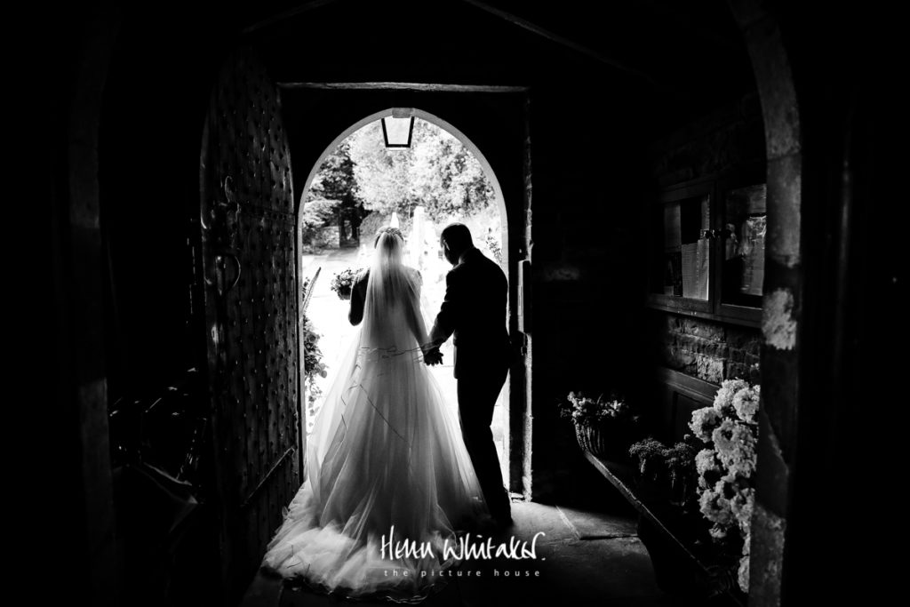 Documentary wedding photographer Cumbria church