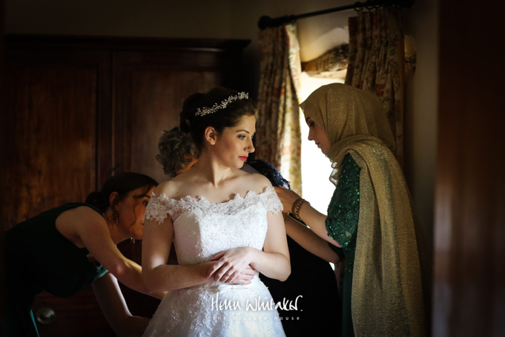Wedding Photographer New House Farm Lake District Bride