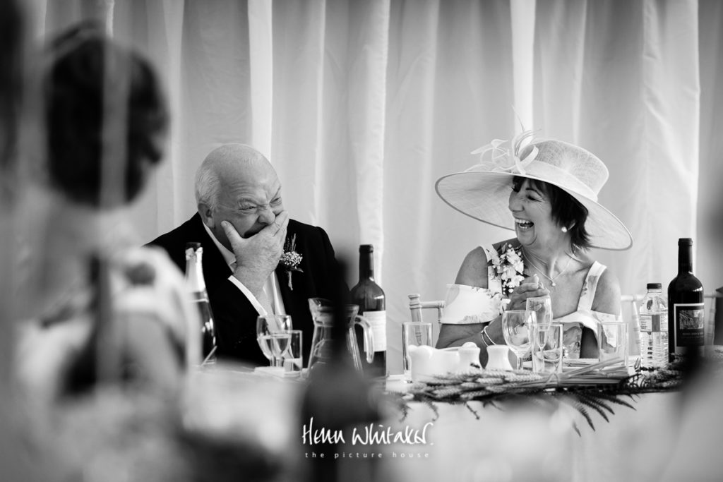 Documentary wedding photographer Cumbria toptable