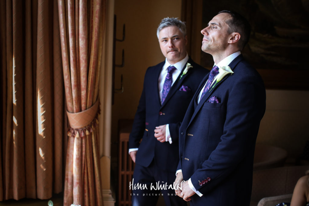 Documentary wedding photographer Armathwaite Hall Lake District