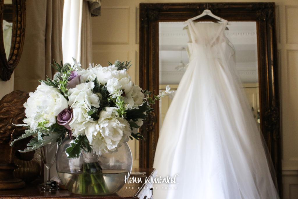 Springkell wedding photographer the dress