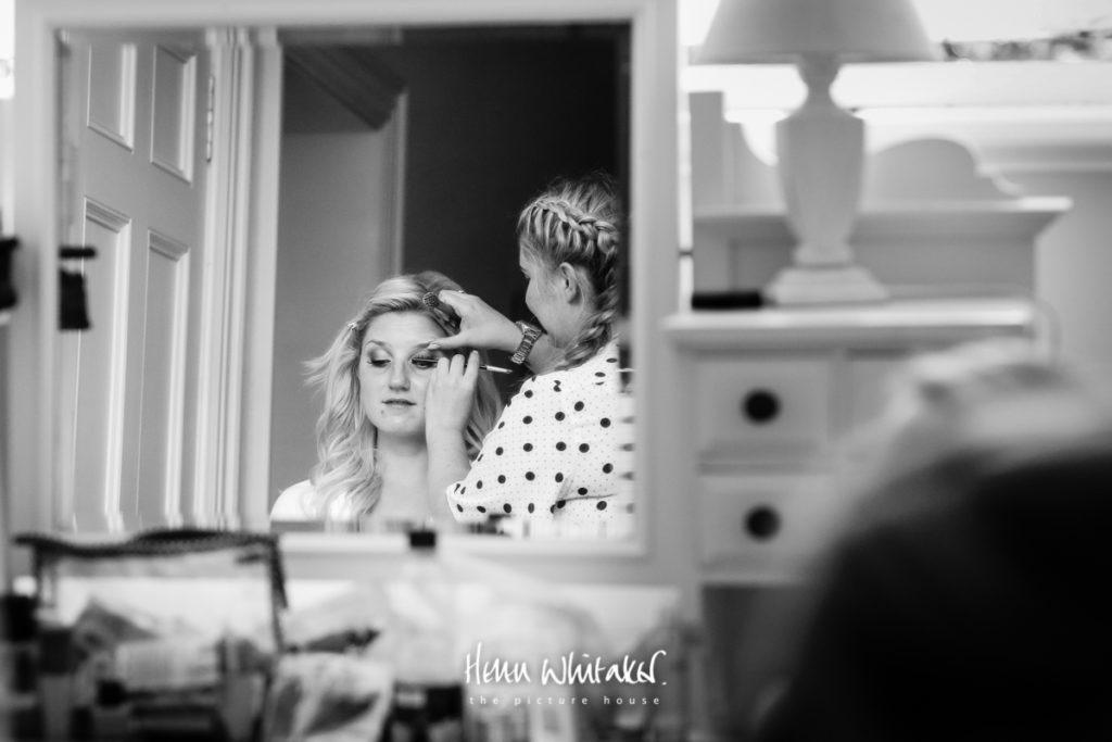 Springkell wedding photographer bride getting ready
