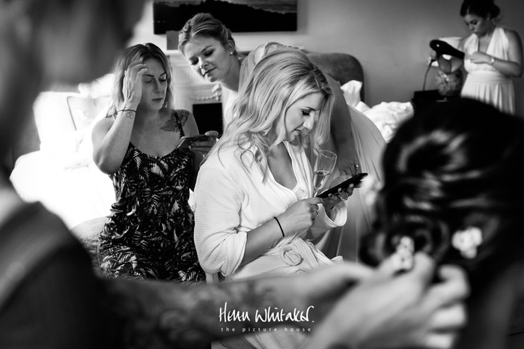 Springkell wedding photographer bridal party