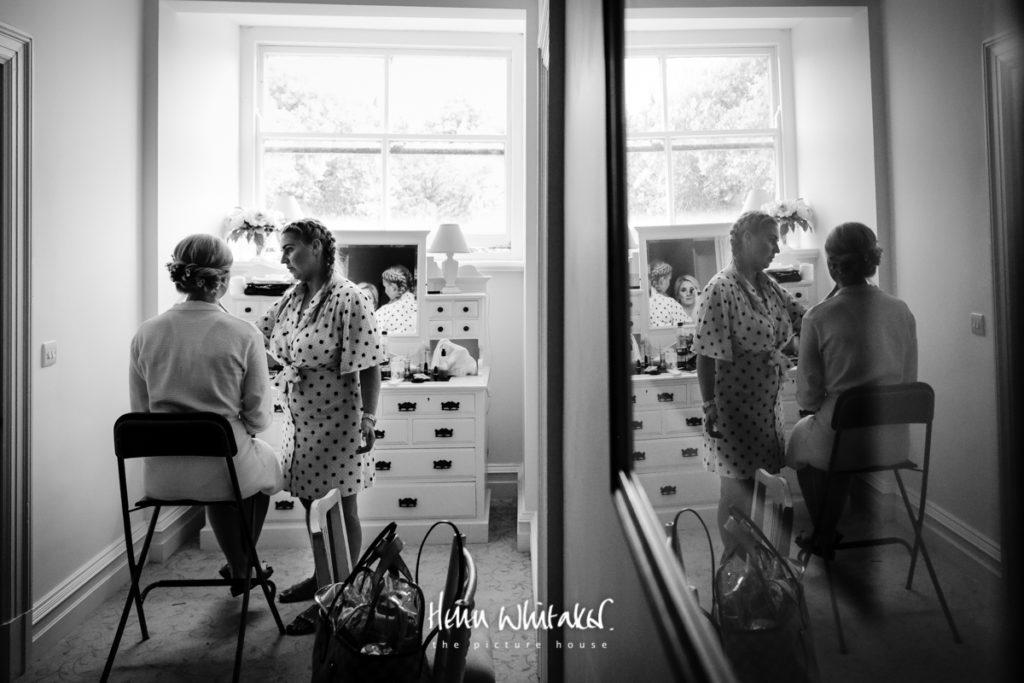 Springkell wedding photographer getting ready