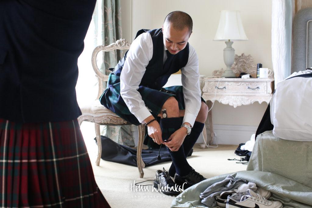 Springkell wedding photographer groom party