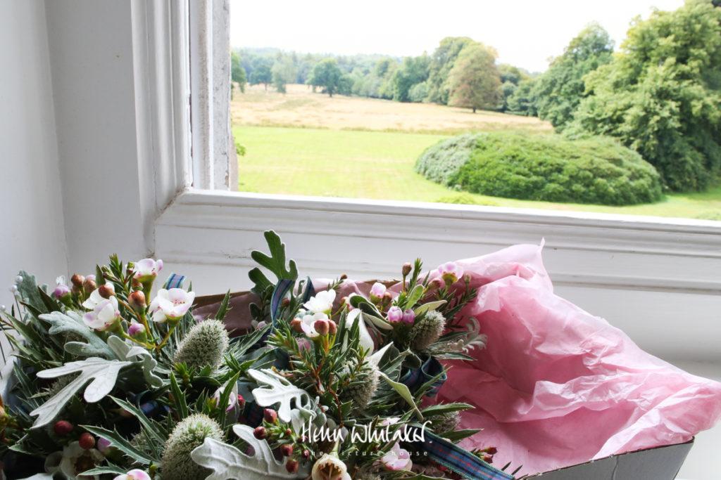 Springkell wedding photographer flowers