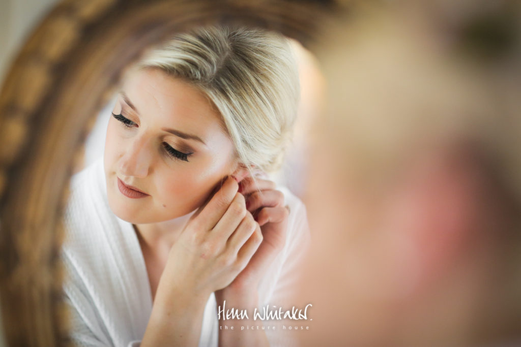 Springkell wedding photographer bridal portrait