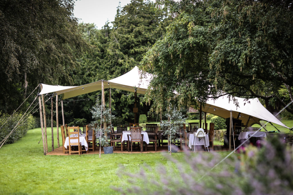 Lake District Documentary wedding photographer marquee melmerby hall