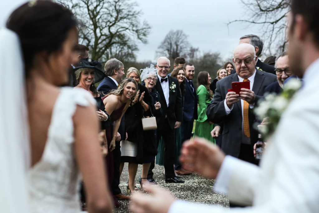 lake district documentary wedding photographer Longlands after the confetti