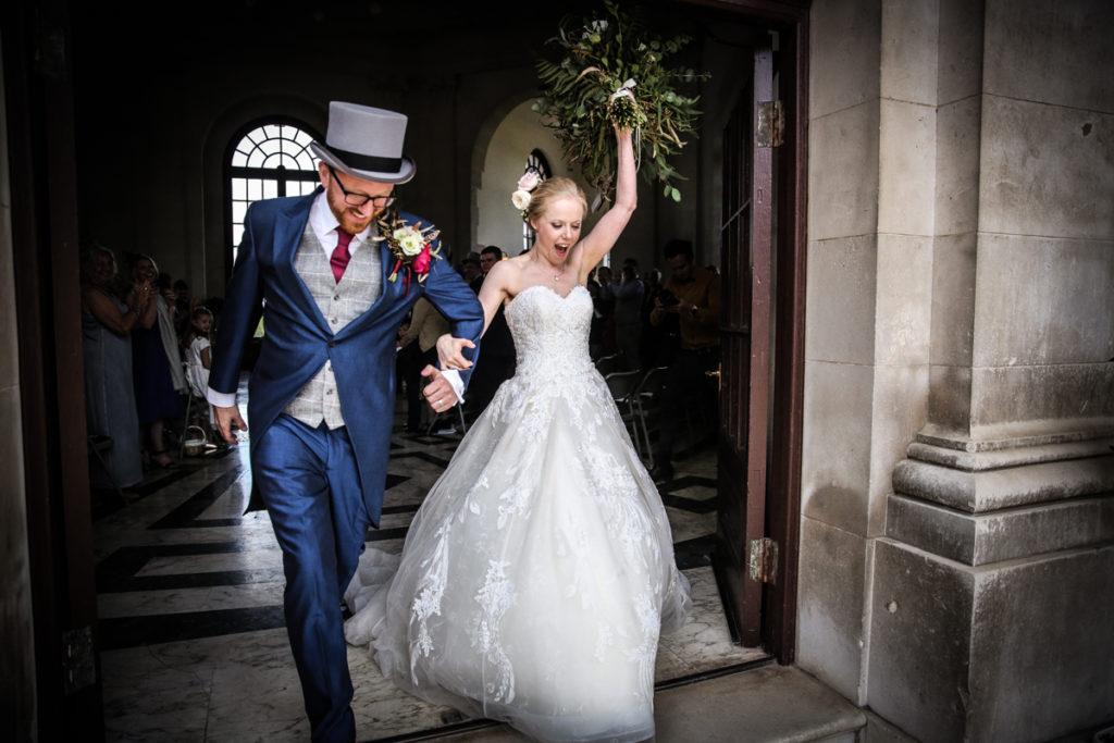 lake district documentary wedding photographer Ashton Memorial just got married
