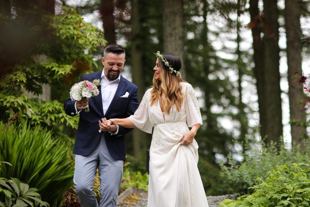 lake district documentary wedding photographer Gilpin Lake House couple portrait