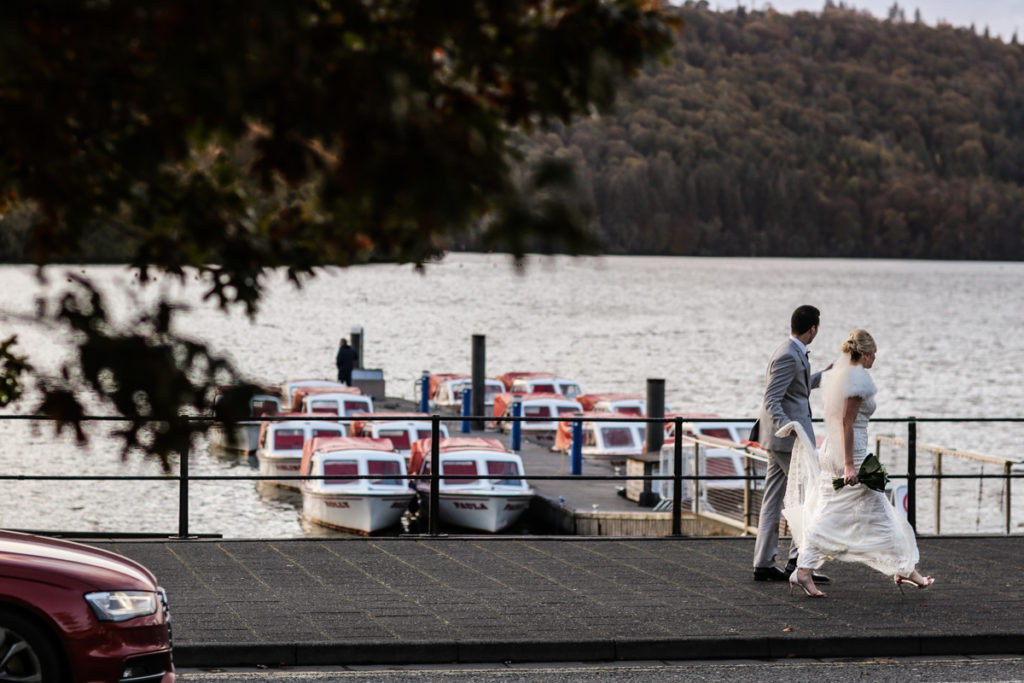 lake district documentary wedding photographer bowness bay