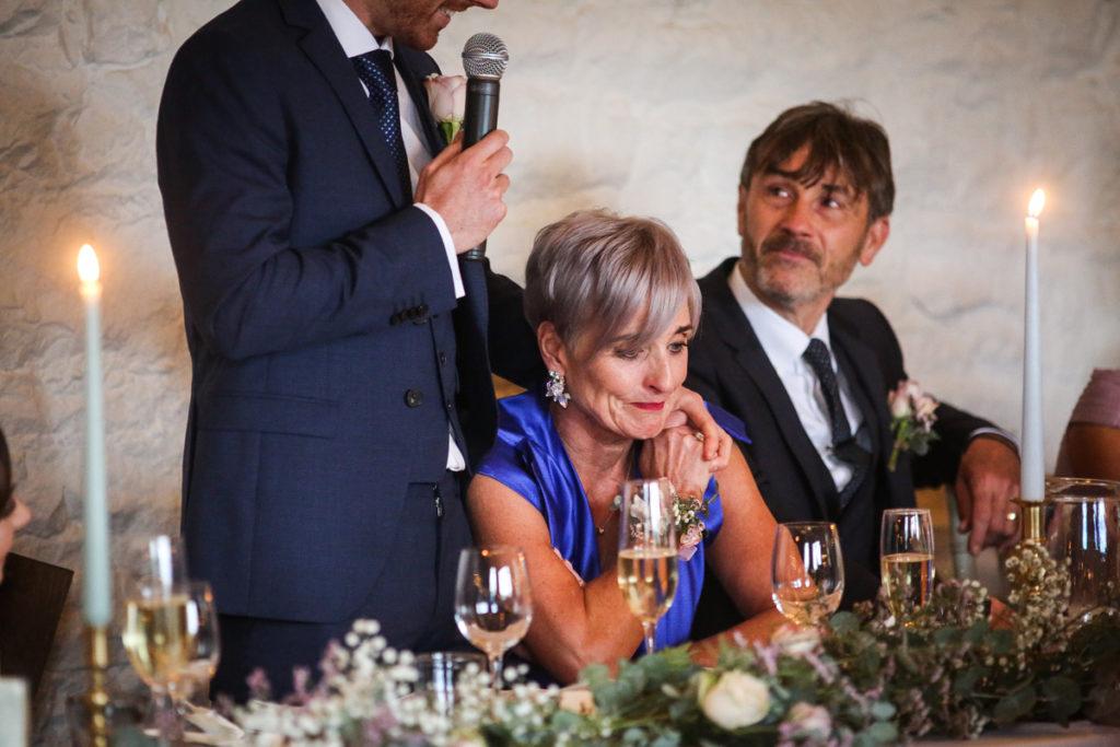 lake district documentary wedding photographer emotional wedding speeches