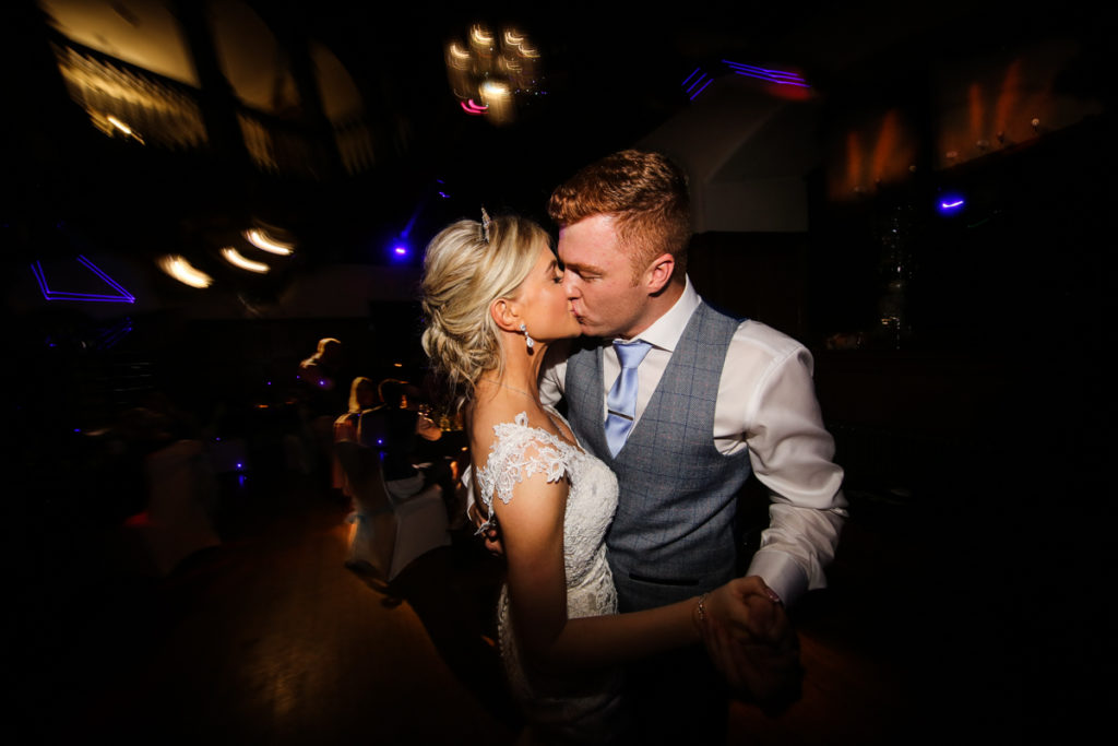 lake district documentary wedding photographer Dalston Hall first dance
