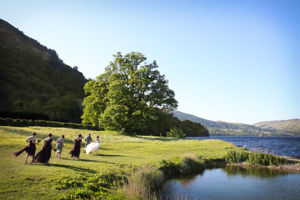 Lake District Wedding Photographer Inn on the lake